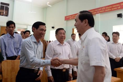 Chủ tịch nước Trần Đại Quang: 'Không đánh đổi môi trường bằng bất cứ giá nào'