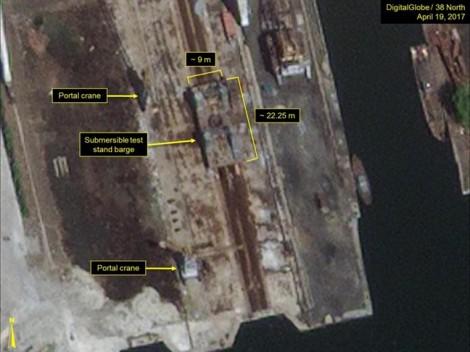 Triều Tiên sắp thử tên lửa từ tàu ngầm có thể bắn tới Mỹ?