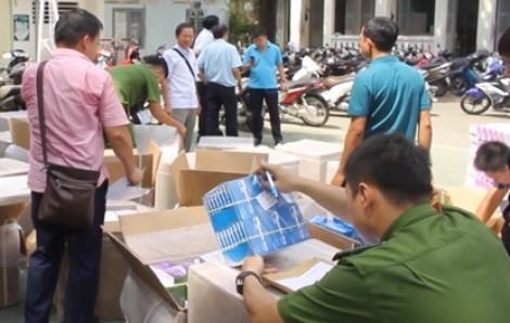 Bộ Công an bắt lô tân dược nhập lậu gần 5 tỷ đồng