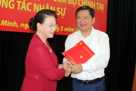 Ông Đinh La Thăng giữ chức Phó trưởng Ban Kinh tế Trung ương