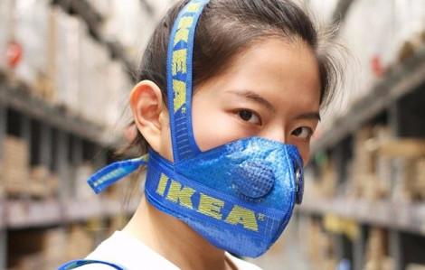 Những món đồ thời trang được biến hoá từ túi IKEA