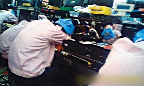 Lao động như tù nhân ở các công xưởng Trung Quốc