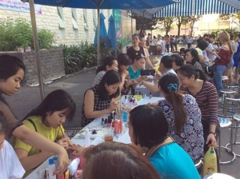 Ngày hội việc làm phụ nữ lần 9 diễn ra từ ngày 6 - 10/6 tại Công viên Phú Lâm