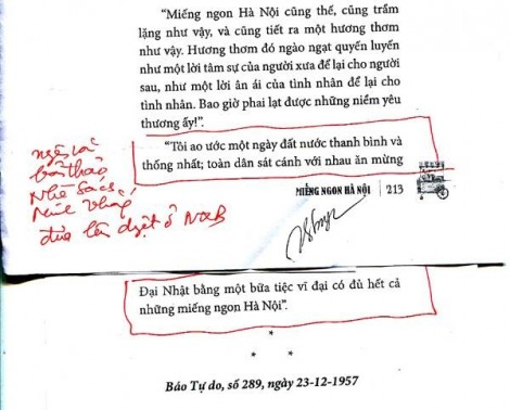 Thu hồi cuốn 'Miếng ngon Hà Nội' của NXB Dân Trí