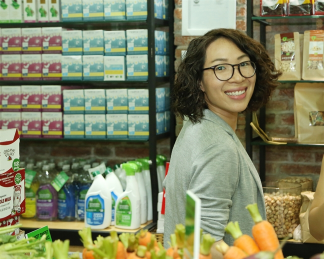 Thao 'Organic': Ban nha khoi nghiep voi thuc pham huu co