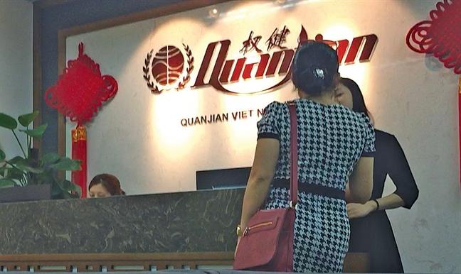 Cong ty Trung Quoc doi lot spa kinh doanh da cap