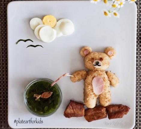 Món ăn đẹp như tranh mẹ làm cho con gái kén ăn