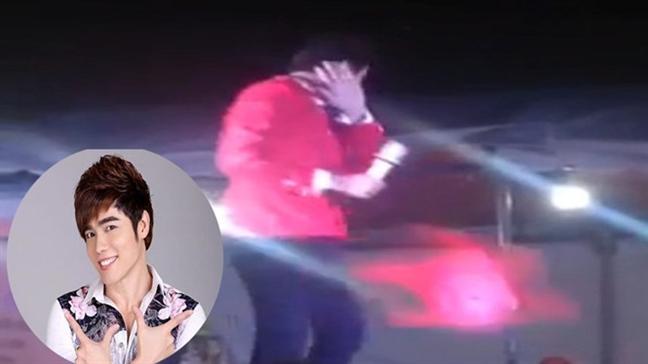 Luu Chi Vy bat khoc khi biet bau show dan xep quay clip ha nhuc