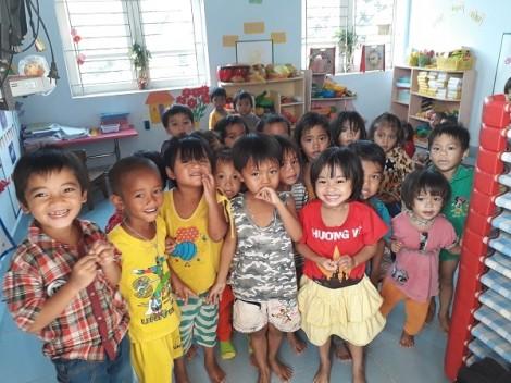 Chương trình 'Uống sữa - vận động - khỏe mạnh' tại các trường Đèn Đom Đóm