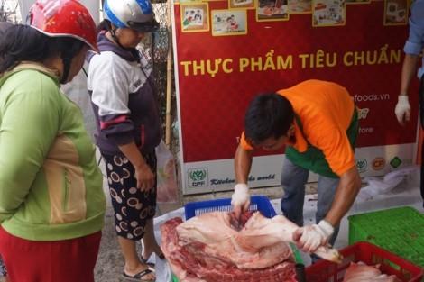 Doanh nghiệp lớn vẫn tiếp tục 'ăn dày' với giá thịt heo cao?