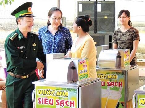 Hội phụ nữ - Bộ đội biên phòng: 5 năm vẹn một chữ tình