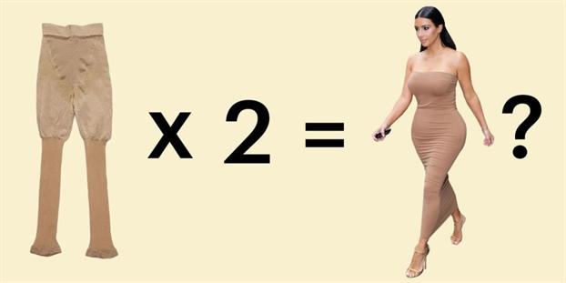 'Lat tay' meo mac quan dinh hinh giup dang thon tu Kim Kardashian