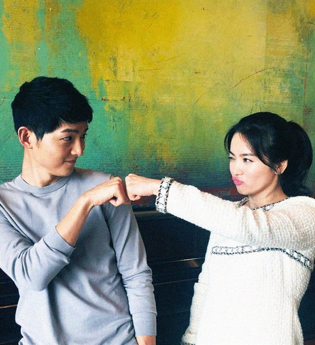 Song Joong Ki va Song Hye Kyo tau biet thu gan Bi Rain – Kim Tae Hee