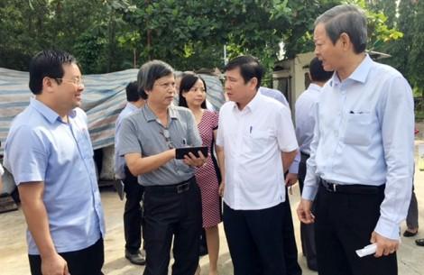 Chủ tịch Nguyễn Thành Phong: Dự án điện rác không được ảnh hưởng người dân