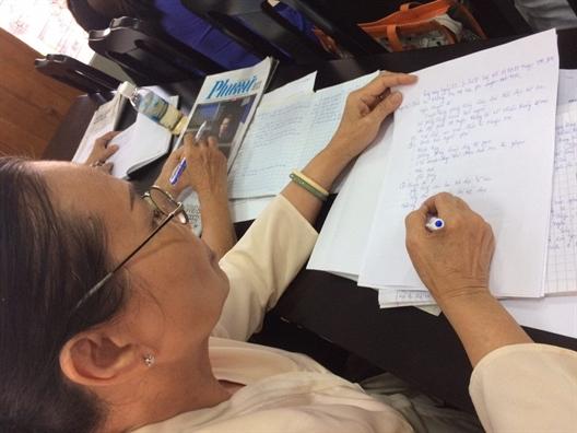 Huyen Hoc Mon: Tap huan nghiep vu cho 130 can bo Hoi