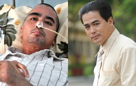 Diễn viên Nguyễn Hoàng lên cơn sốt, cơ thể co giật