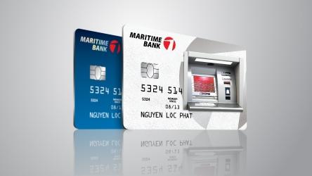 Ung tien nhanh len den 100% han muc voi The tin dung Maritime Bank