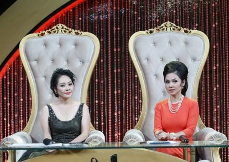 Việt Trinh khóc nức nở trên sóng truyền hình