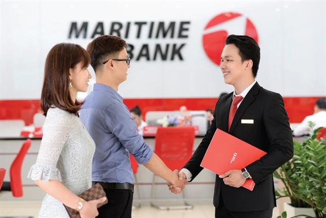 Maritime Bank duoc phep mo moi 13 chi nhanh