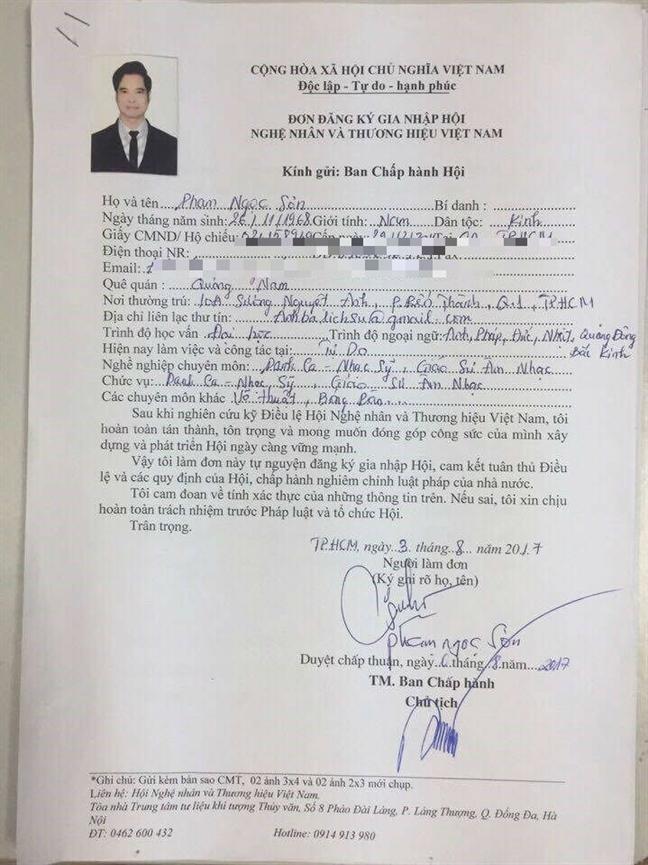 Giai trinh vu phong 'Giao su am nhac' cho Ngoc Son: Cang giai thich cang gay hoang mang!