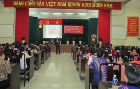 Q.Bình Tân: Tuyên truyền về  phòng chống mua bán người