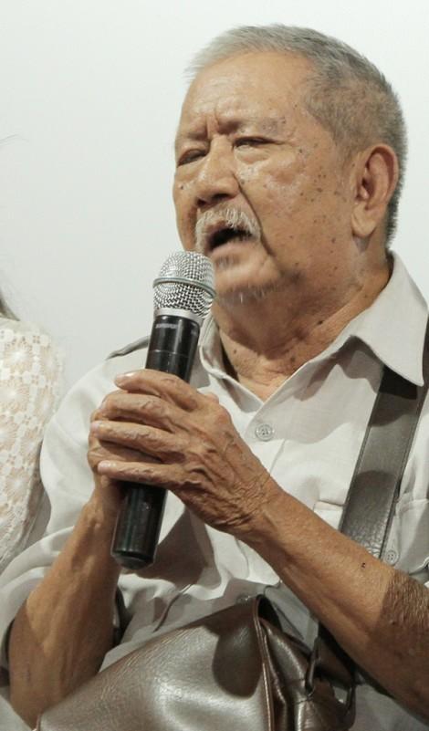Nghệ sĩ Mạc Can rơm rớm nước mắt khi mất đi 'bạn thân'