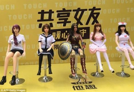 'Dùng chung' búp bê tình yêu - ngành dịch vụ mới nổi tại Trung Quốc