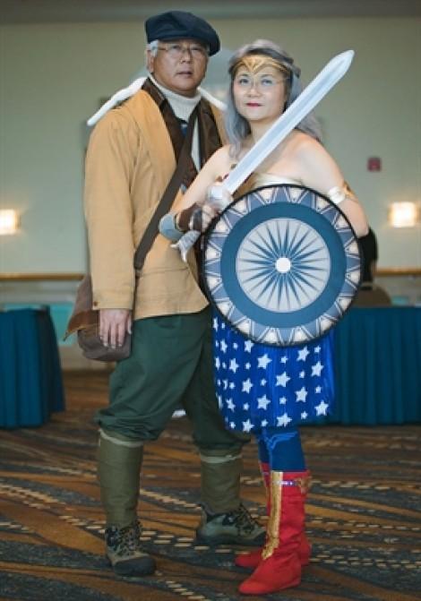 Tình yêu cosplay của đôi vợ chồng tuổi lục tuần
