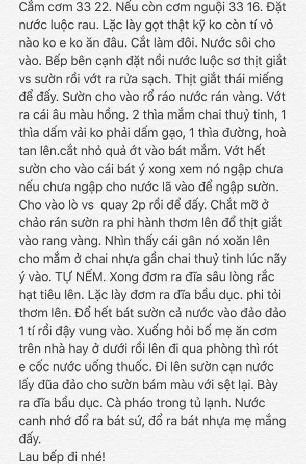 Nguong mo nguoi chong 'soai ca' san sang hoc nau du mon tren doi vi chieu vo