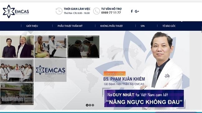 Giam doc Benh vien tham my Emcas: 'Benh nhan tinh duoc 20 phut thi bong kho tho'