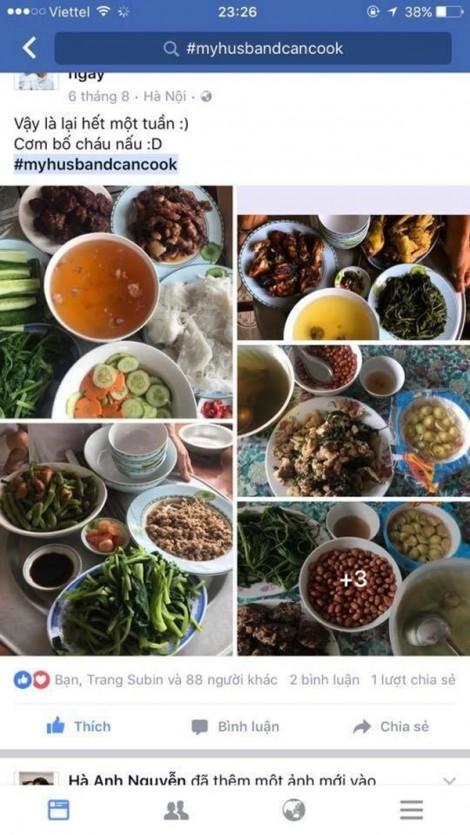 Ngưỡng mộ người chồng 'soái ca' sẵn sàng học nấu đủ món trên đời vì chiều vợ