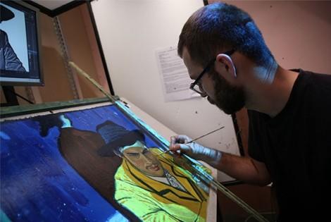 Phim hoạt hình từ tranh sơn dầu đầu tiên của thế giới đến VN