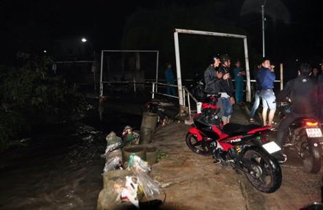 Tìm thấy thi thể nam thanh niên bị nước cuốn ở Đồng Nai