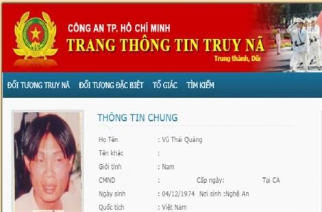 Di lý phóng viên bị truy nã về TP.HCM điều tra