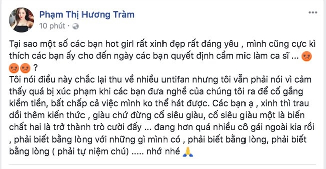Tram oi dung so, Chi cung dung so!