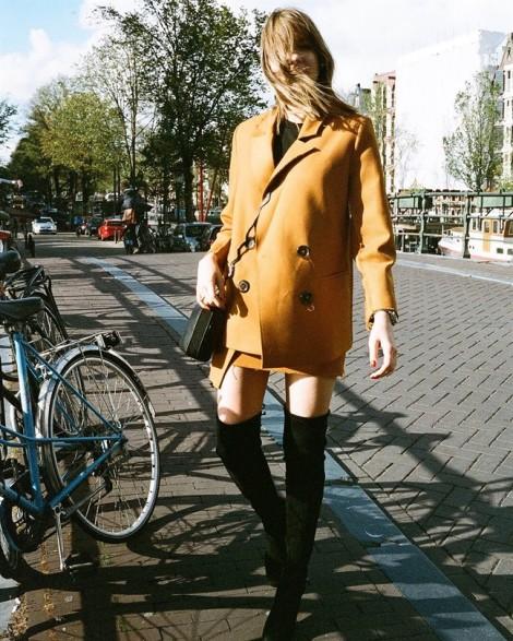 Những màu sắc trang phục khiến bạn thêm yêu mùa thu