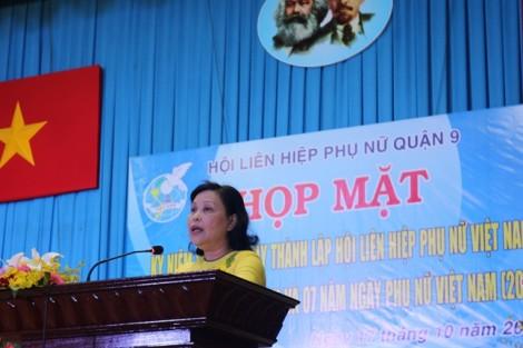 Quận 9: Trao kỷ niệm chương 'Vì sự phát triển của phụ nữ Việt Nam' cho 14 cá nhân