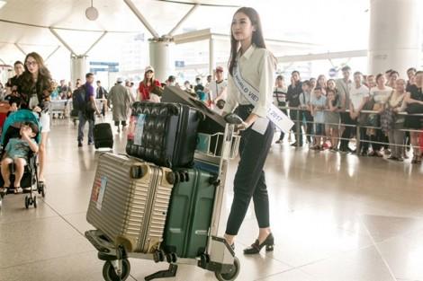 Có gì trong 200kg hành lý Đỗ Mỹ Linh mang đến 'Miss World 2017'?