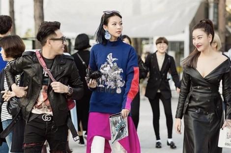 Ngắm mỹ nhân Việt khoe sắc trong street style tại Seoul Fashion Week