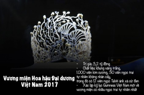 Cận cảnh vương miện đắt đỏ của các cuộc thi nhan sắc tại Việt Nam