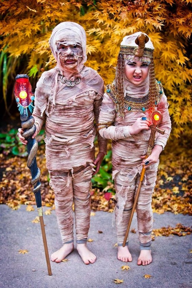 15 bo trang phuc Halloween cho tre khien nguoi lon so chet khiep