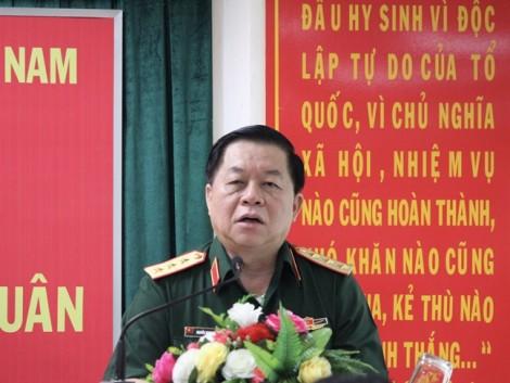 Thượng tướng Nguyễn Trọng Nghĩa: Tạo điều kiện tốt nhất cho phóng viên viết các hoạt động của quân đội