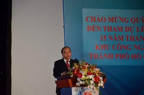 Thủ tướng Nguyễn Xuân Phúc: Khu Công nghệ cao phấn đấu trở thành 'Thung lũng Silicon' vươn tầm thế giới