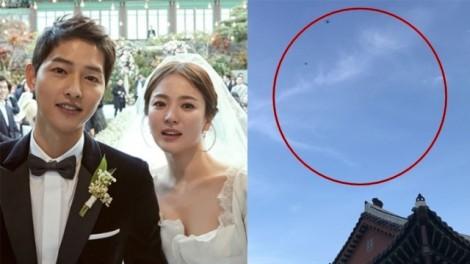 Bộ Tư lệnh Hàn Quốc điều tra việc sử dụng flycam để ghi hình lễ cưới Song Joong Ki - Song Hye Kyo