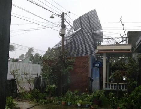 Bão Damrey mạnh cấp 12 đổ bộ Khánh Hòa - Phú Yên