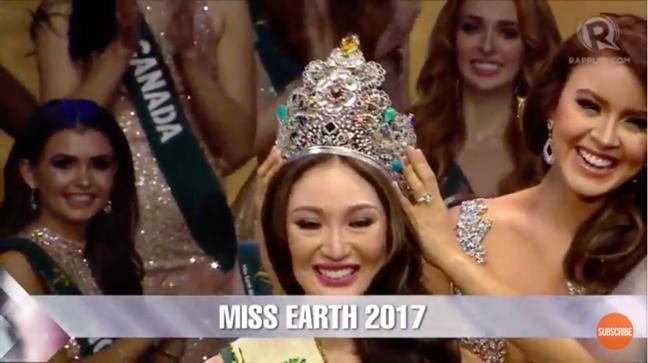 Ha Thu truot top 8, vuong mien 'Hoa hau Trai dat 2017' thuoc ve nguoi dep Philippines