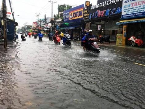 TP.HCM có nguy cơ ngập nặng vì bão kết hợp triều cường
