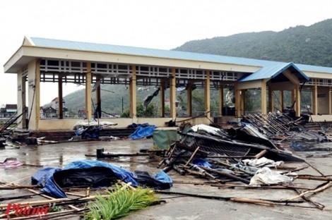37 người chết, mất tích vì bão Damrey