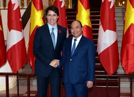Việt Nam - Canada nhất trí xác lập quan hệ đối tác toàn diện