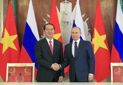 Chủ tịch nước gửi thư cảm ơn Tổng thống V.Putin và nước Nga